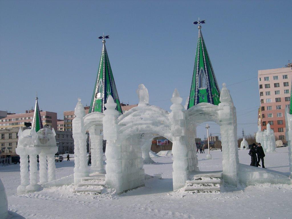 ice-city, Новый Уренгой