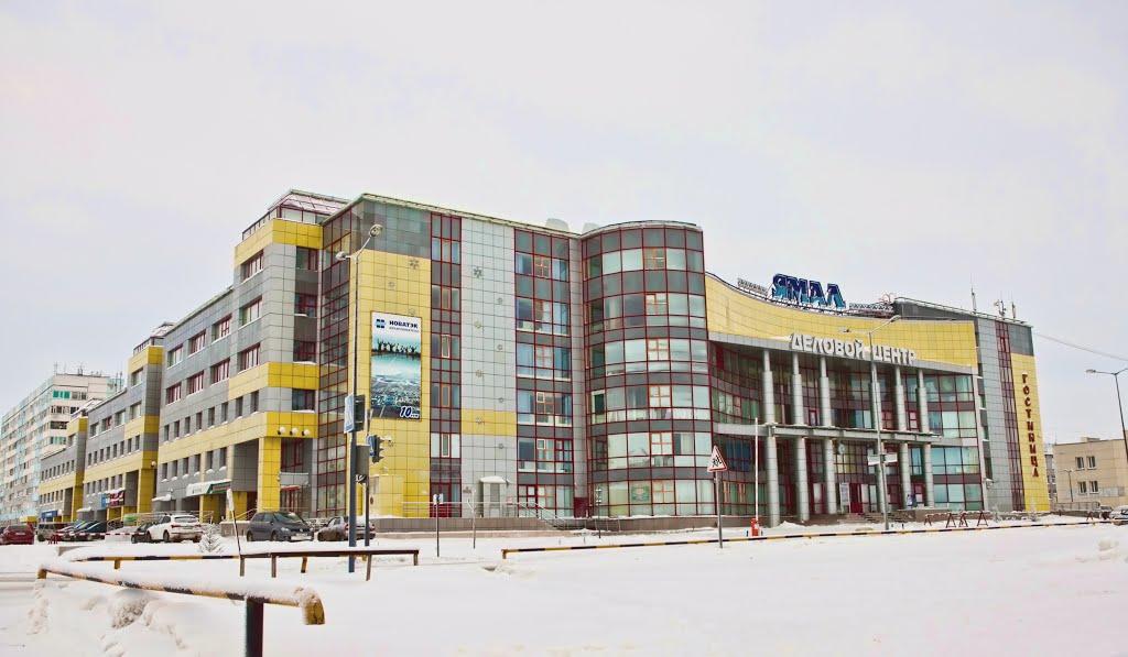 Здания Нового Уренгоя, Новый Уренгой