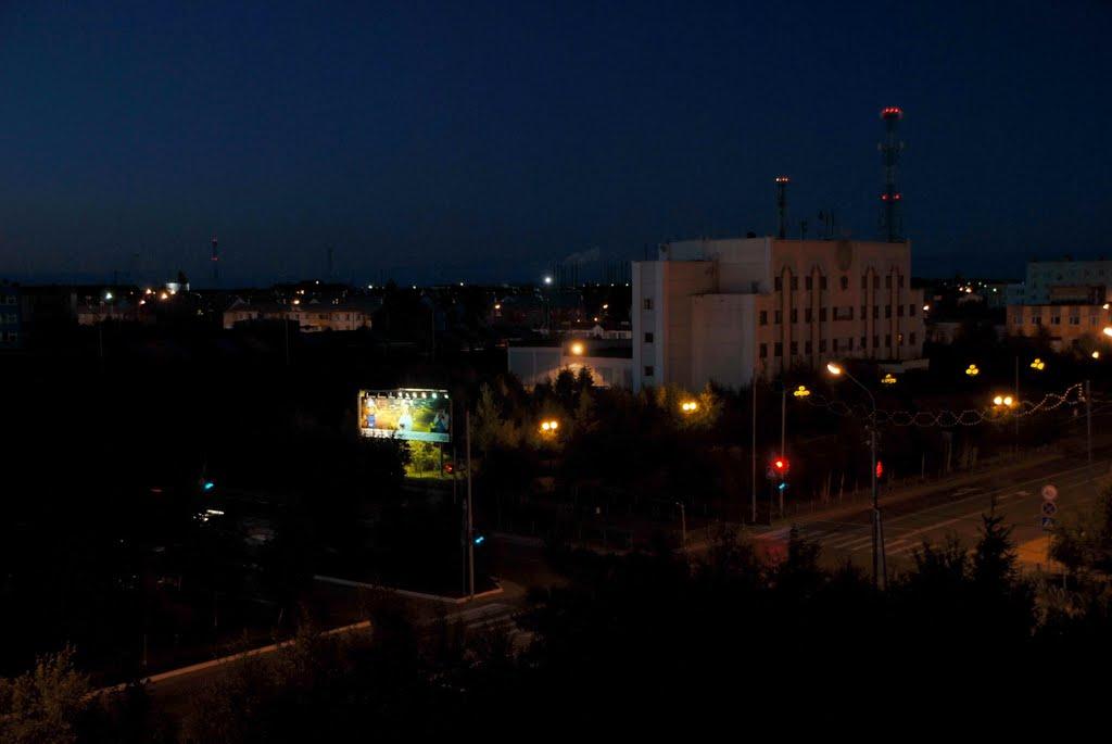 Здание администрации., Муравленко