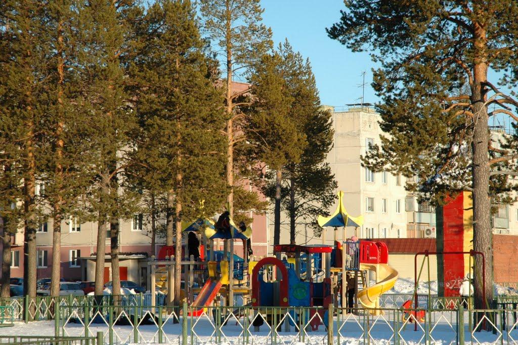 детский городок, Муравленко