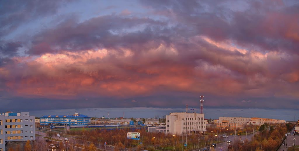 Деревня Муравленко. Осень., Муравленко