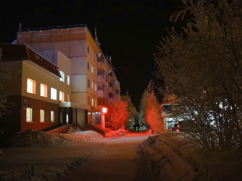 Муравленко зима 2011-12, Муравленко