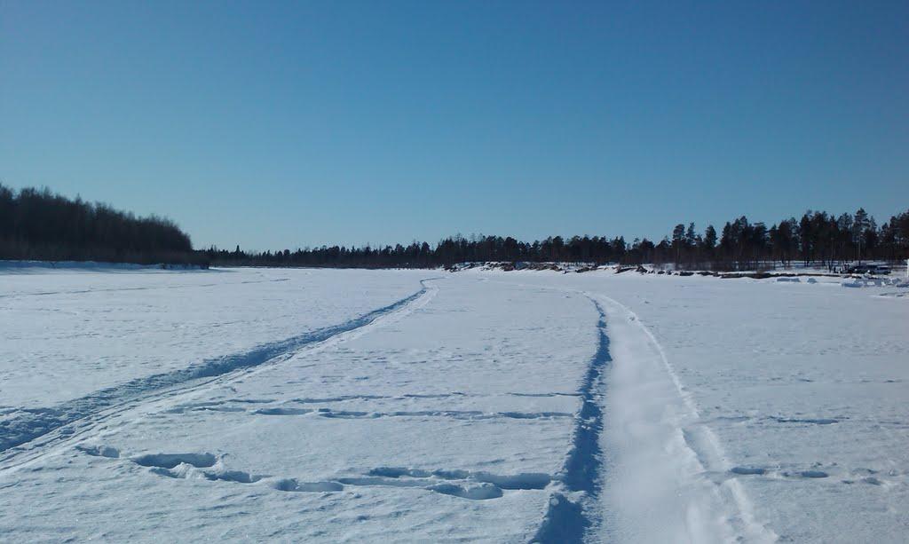 Пяку-Пур зимой, Губкинский