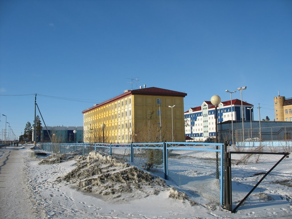 Общежитие (14-й микрорайон дом 50), Губкинский