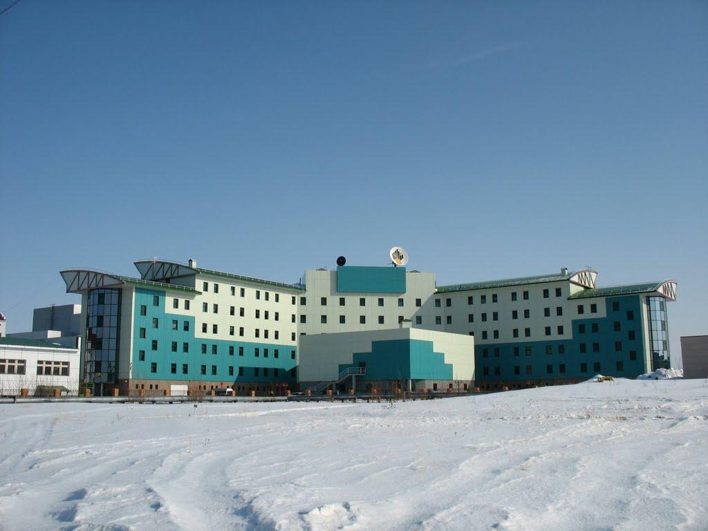 Центральный офис ООО «РН-Пурнефтегаз», Губкинский