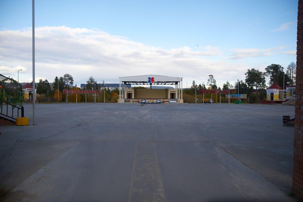 сцена, Губкинский