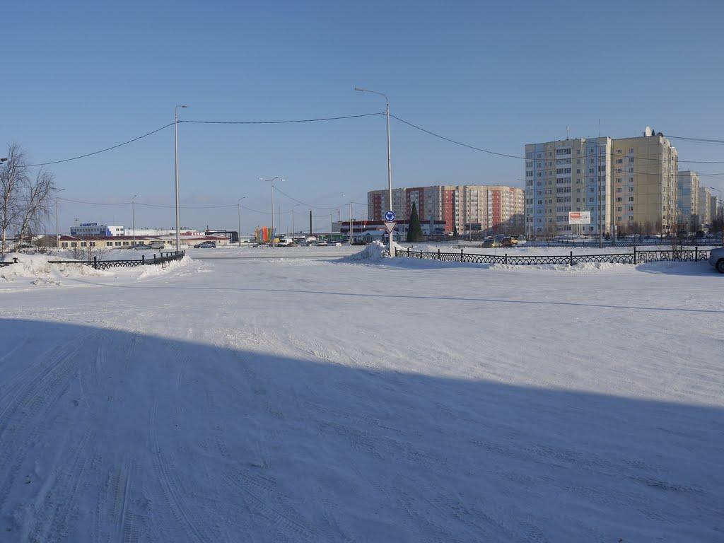Центр города, Надым