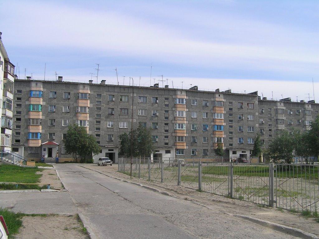 ул. Пионерская, Надым