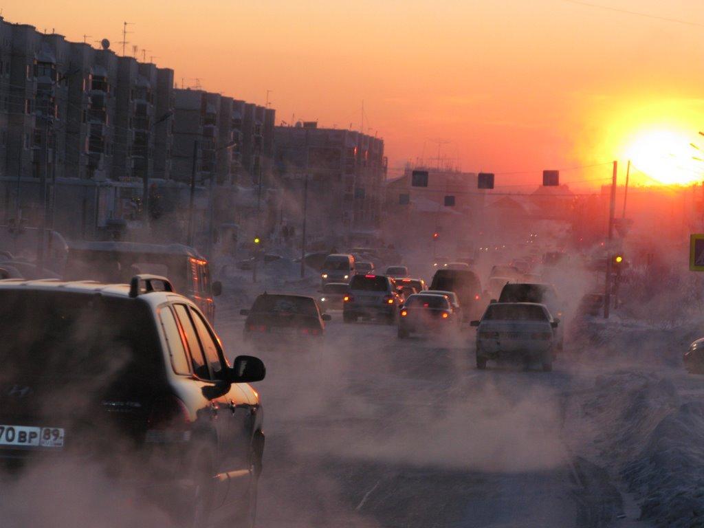 ►  9   месяцев зимы - 9 months of winter.   *, Ноябрьск