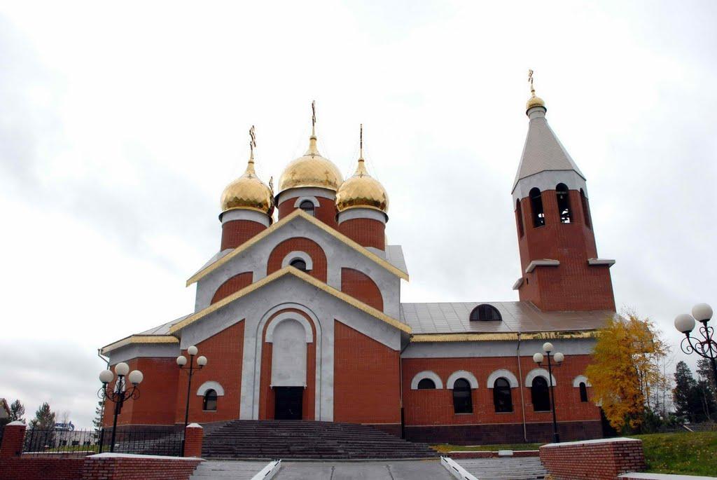 Церковь в г. Ноябрьске., Ноябрьск