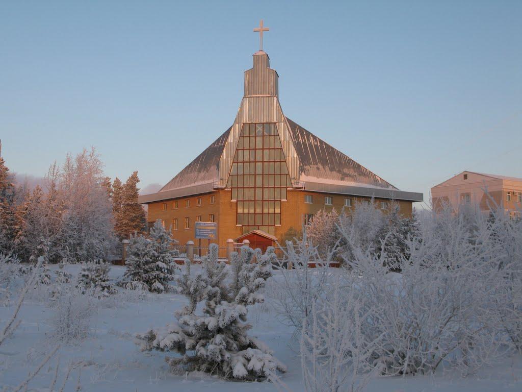 ► Дом Молитвы - Евангельских Христиан-баптистов,ул.Советская.   *, Ноябрьск