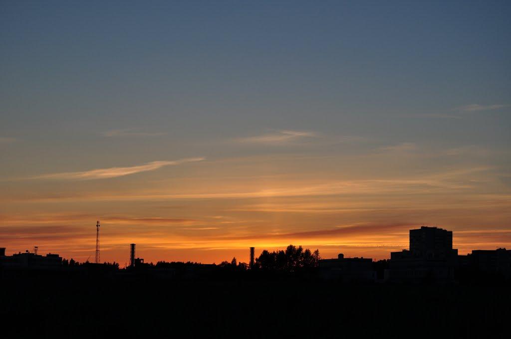 закат, Десногорск