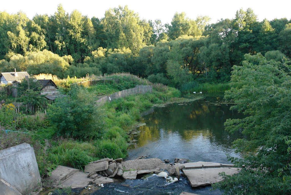 The dam on Desna, Yelnya, Ельня