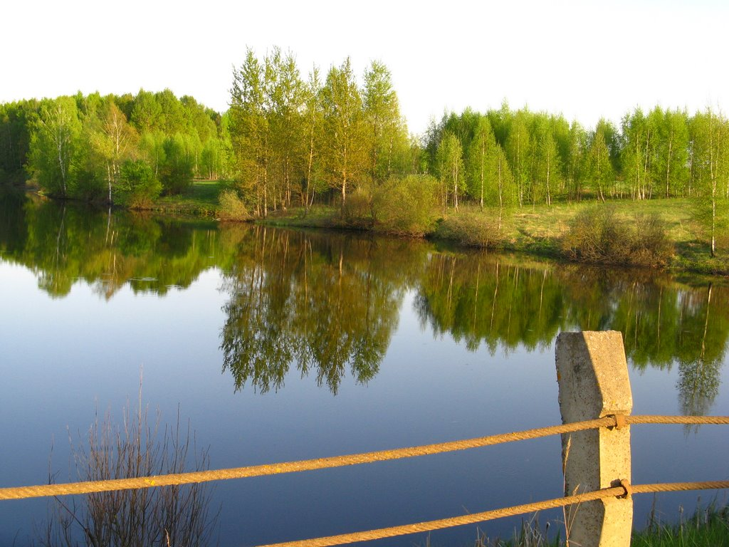 Озерцо, Монастырщина