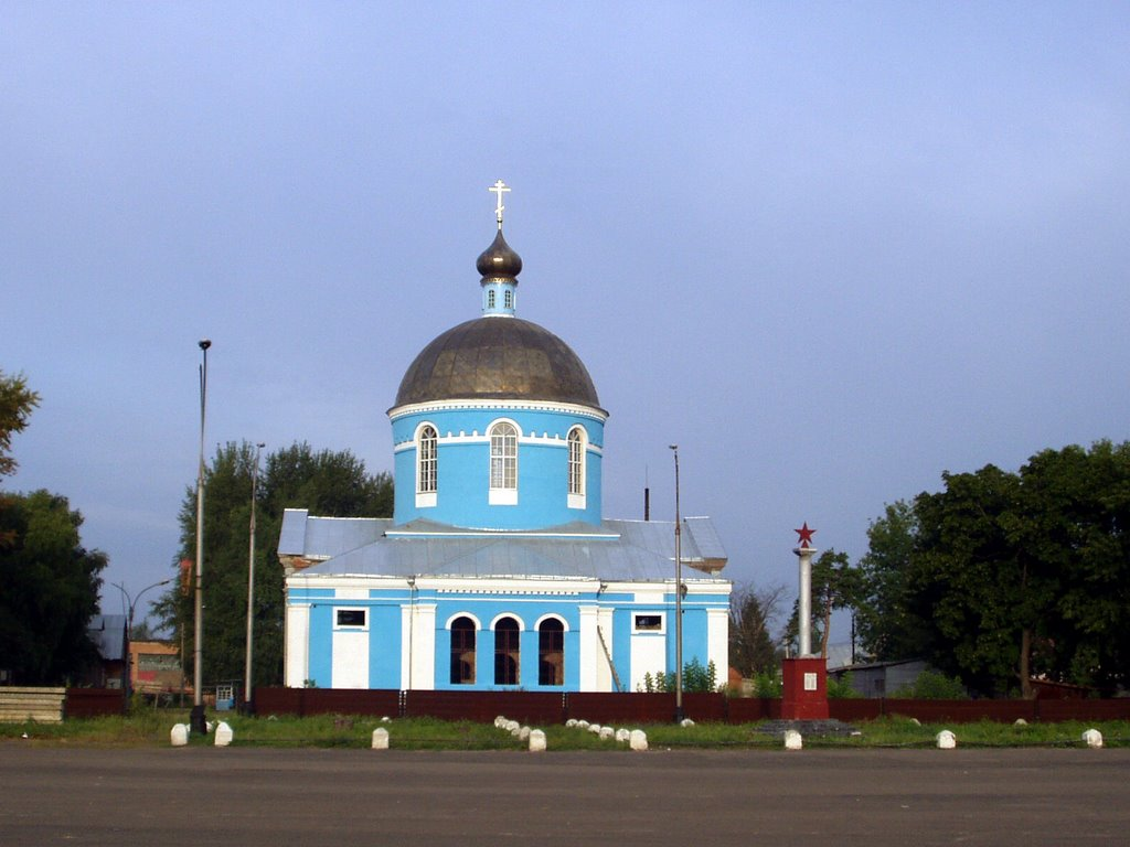La iglesia ortodoxa, Уварово