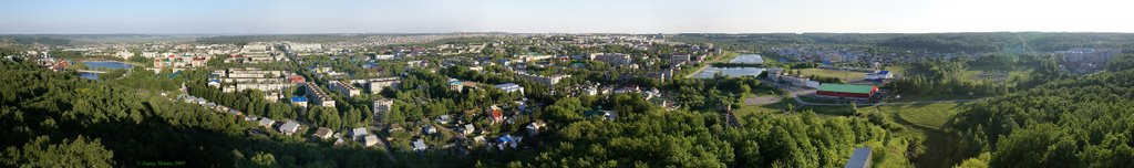 *** Панорама Лениногорска (вид с трамплина) ***, Лениногорск
