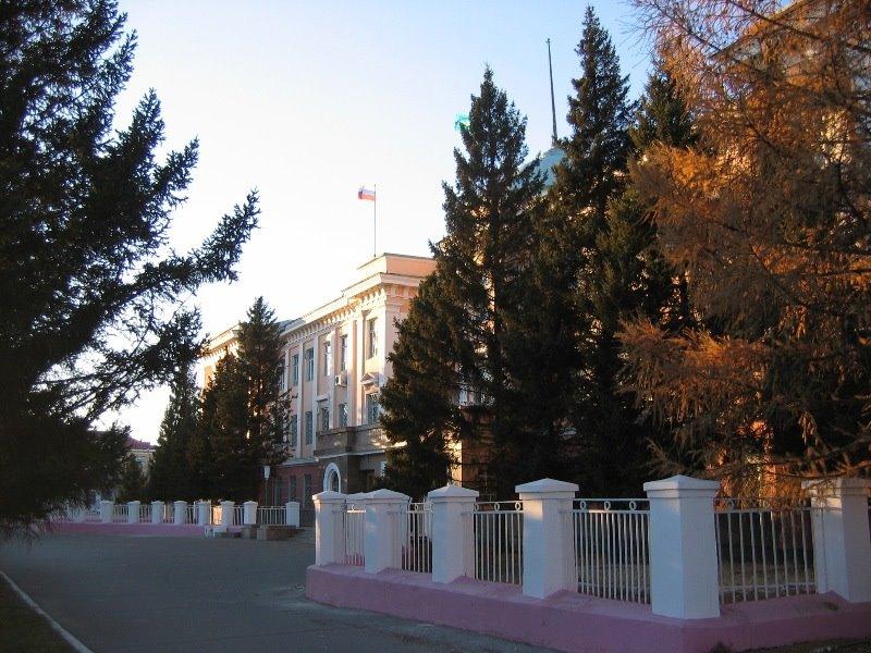 The Great Khural - Parliament of the Republic o Tuva - Великий Хурал - Парламент Республики Тыва, Кызыл