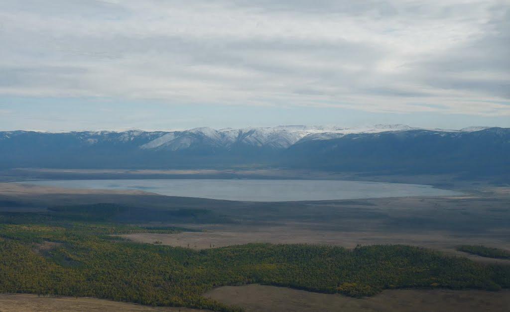 Озеро Чагытай, Самагалтай