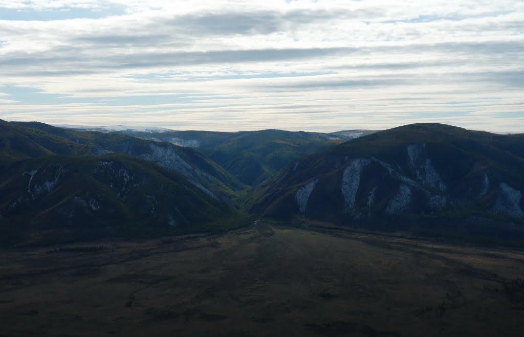 Ущелье реки Хорси, Самагалтай