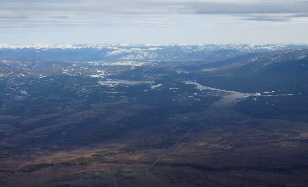 Дорога, уходящая в горы, Самагалтай