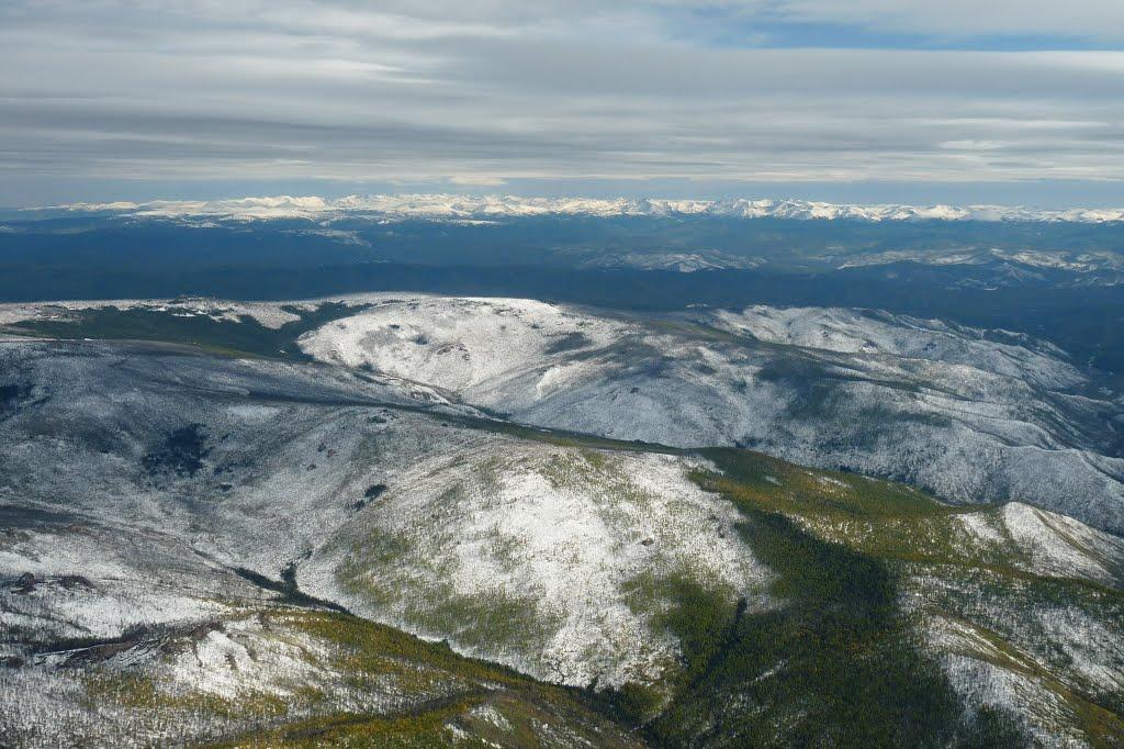 Гора Ильинская (1990 м), Самагалтай