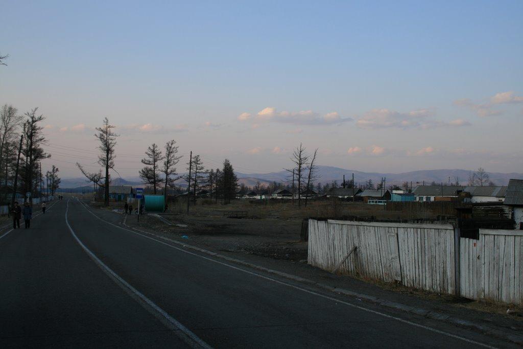 Шурмак, трасса М54, Самагалтай