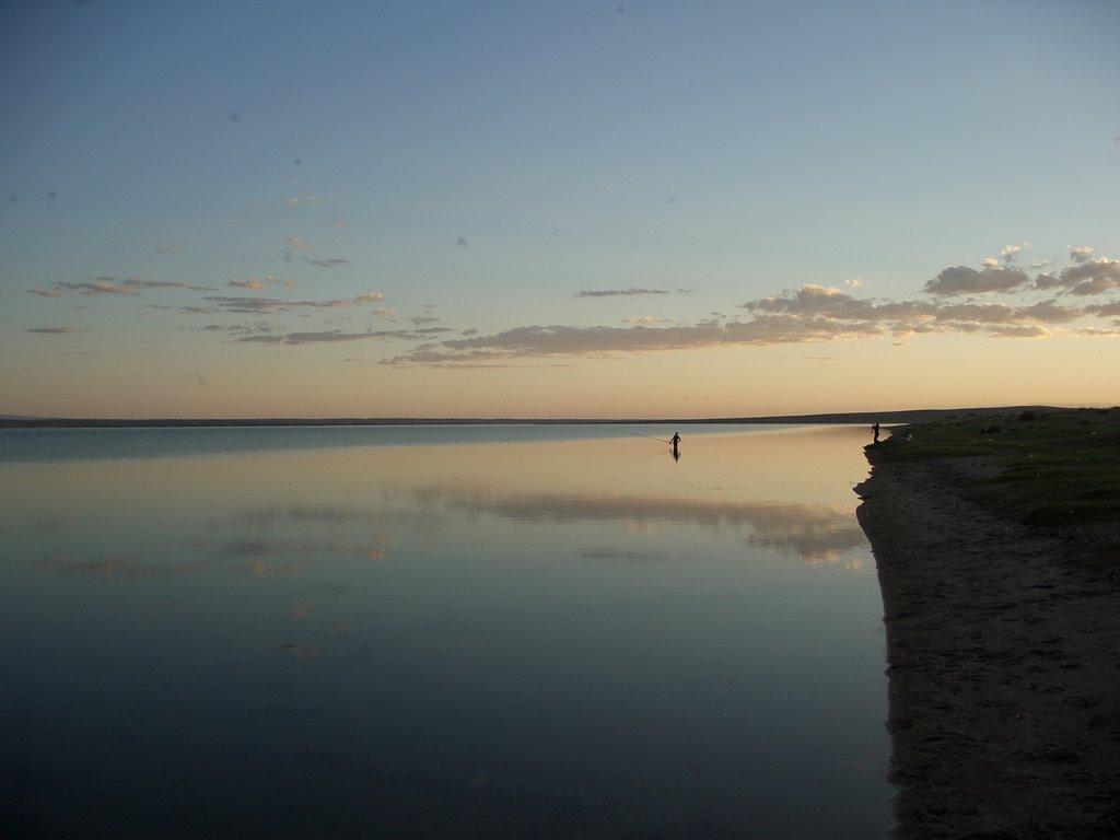 Озеро Тёре-Холь, Самагалтай