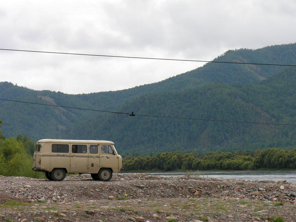 UAZ-2206 - the best Russian off-road van, Самагалтай