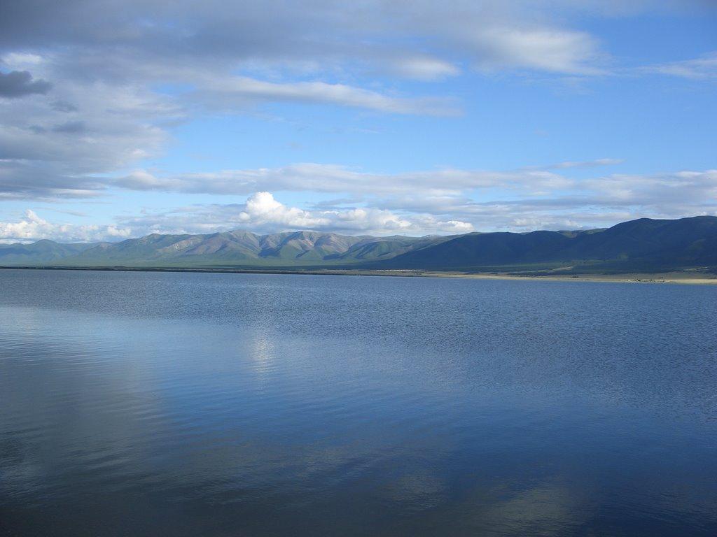 Lake Chagytay, Самагалтай