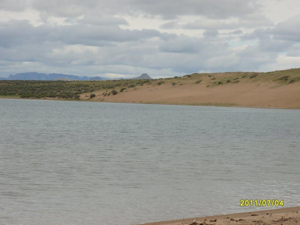 Песчанные берега., Самагалтай