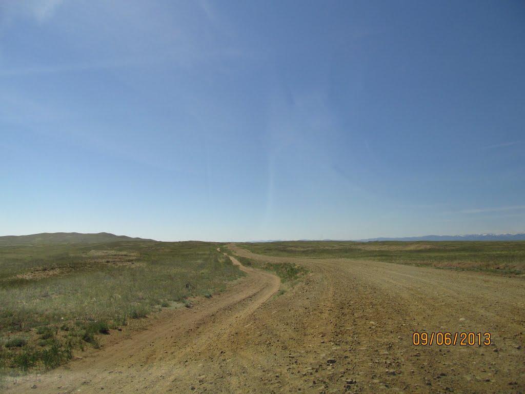 Road to Dus-Khol (continuation), Самагалтай
