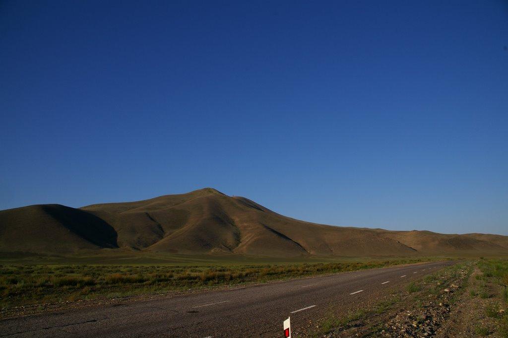 дорога от Кызыла на Шагонар г.Боом., Суть-Холь