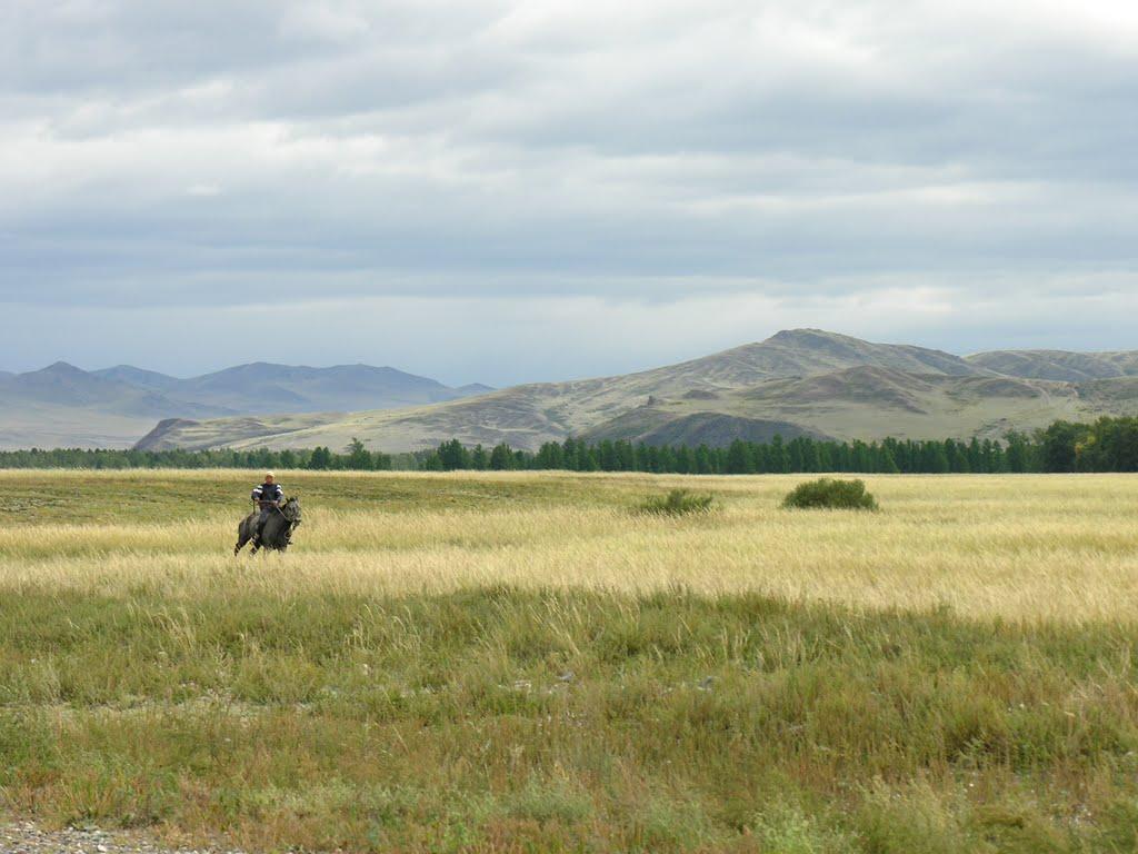 Hills near Sug-Bazhi, Суть-Холь