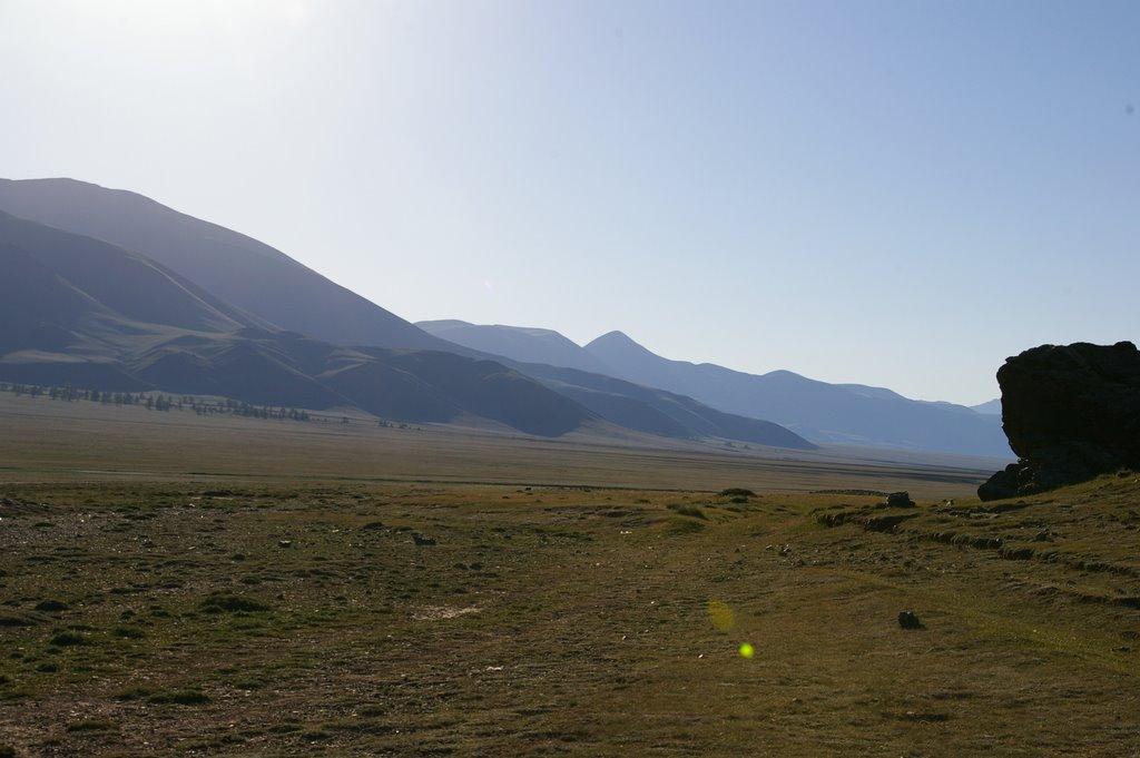 хребет Цаган-Шибэту, Тээли