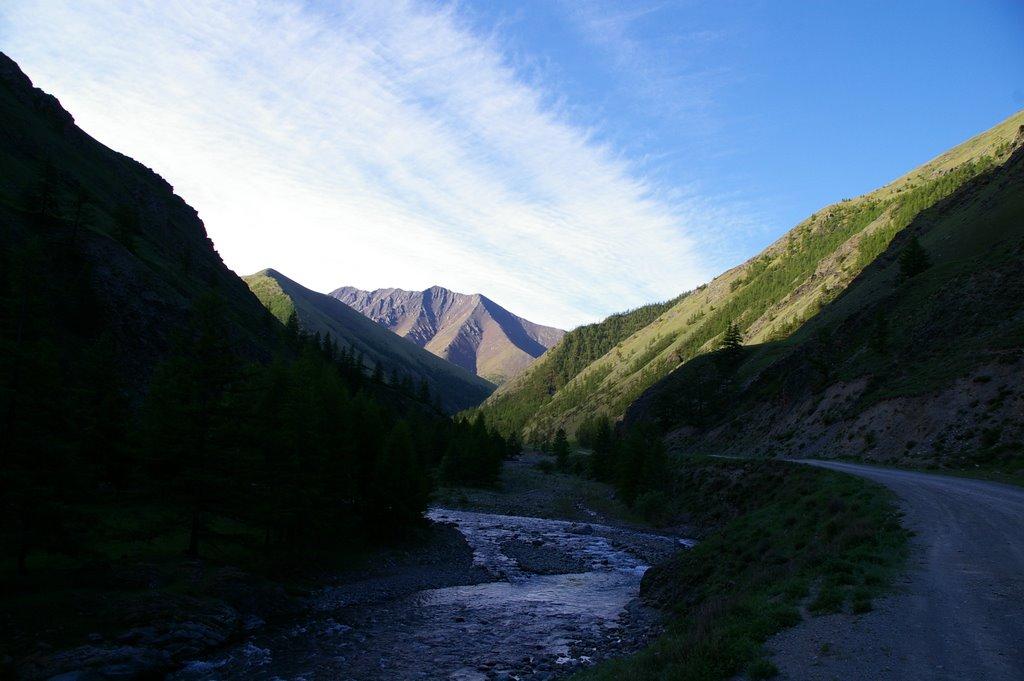 ущелье реки Барлык, Тээли