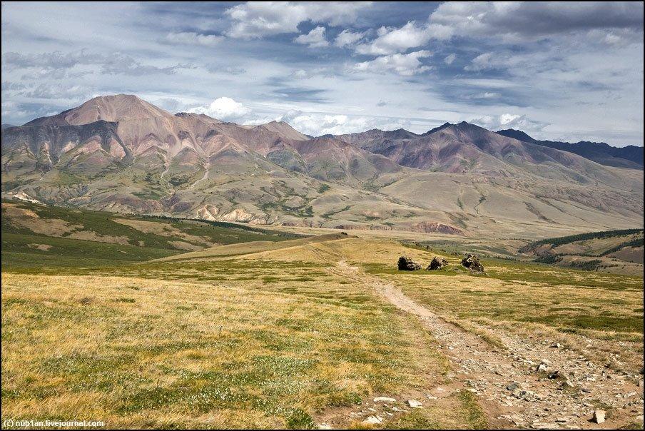 г.Кат-Тайга, 3460 м, Тээли
