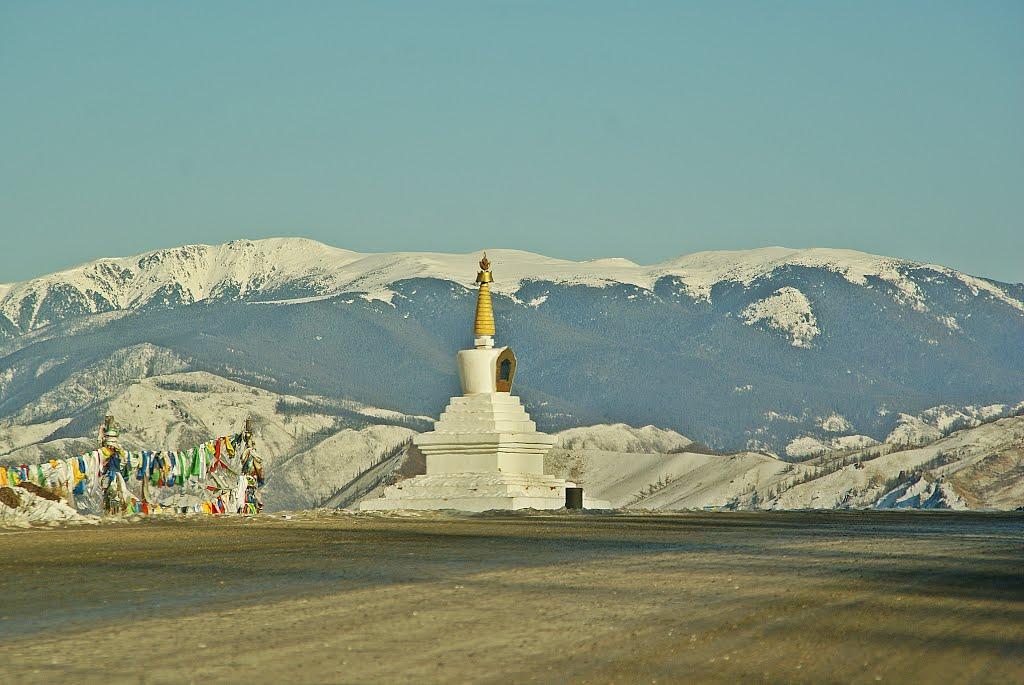 Республика Тыва. Субурган (буддийская ступа).., Хову-Аксы