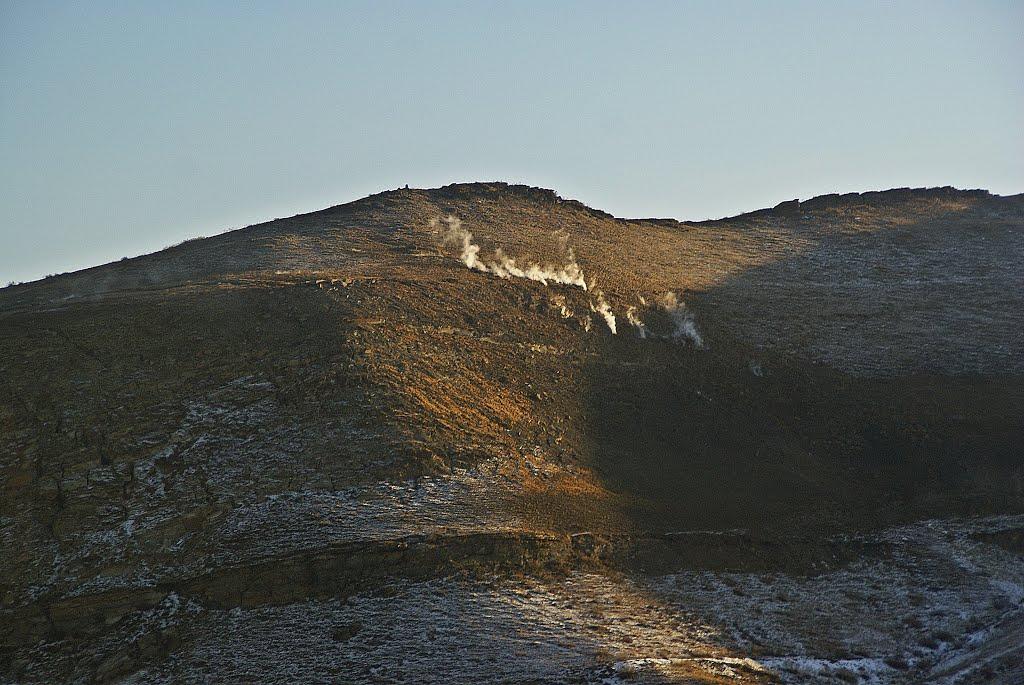 Республика Тыва, Ээрбекское угольное месторождение. Пожар длиною в 61 год..., Хову-Аксы