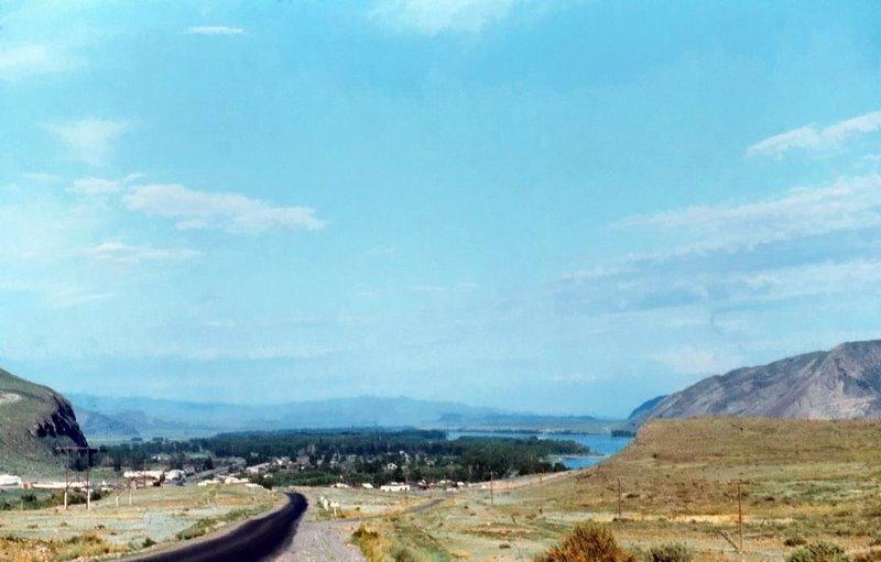по дороге на Шагонар, Хову-Аксы
