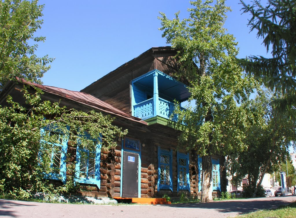 The first house of Kyzyl (1914), Хову-Аксы