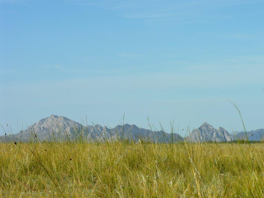 View to Hajyrakan mount, Хову-Аксы