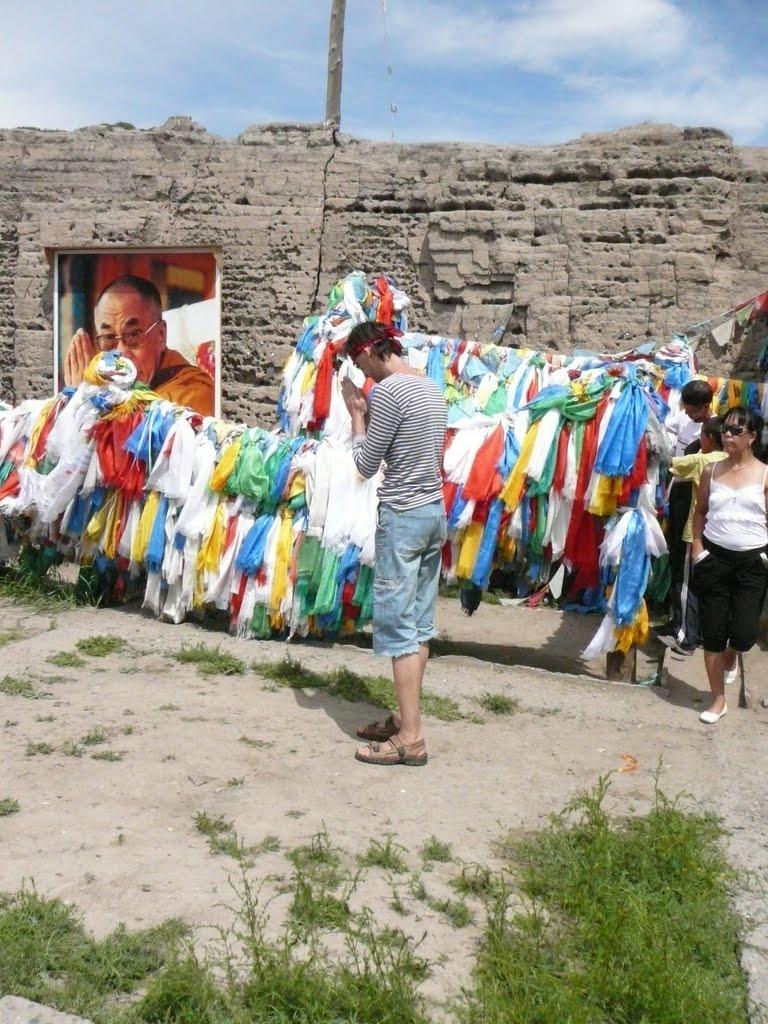 Храм Устуу-Хурээ, день рождения Далай Ламы XIV, 2010 год, Чадан