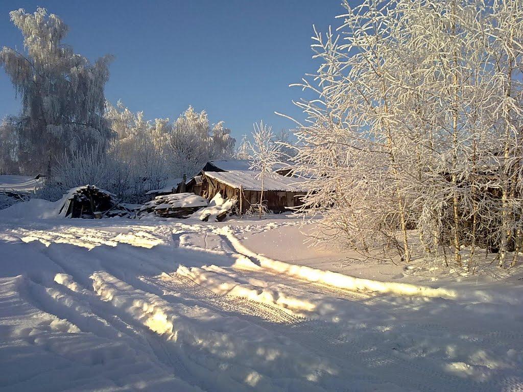 Кимовск. Старый сарай., Кимовск