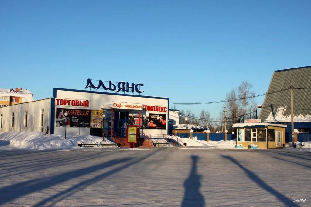"""Торговый комплекс """"Альянс"""" (26.02.2011), Советский"""