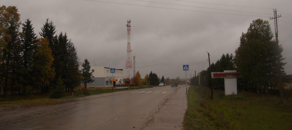 Въезд в Красногорье, Красногорское