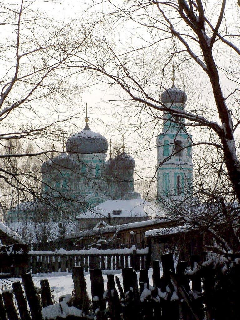 Январь в Базарном Сызгане, Базарный Сызган
