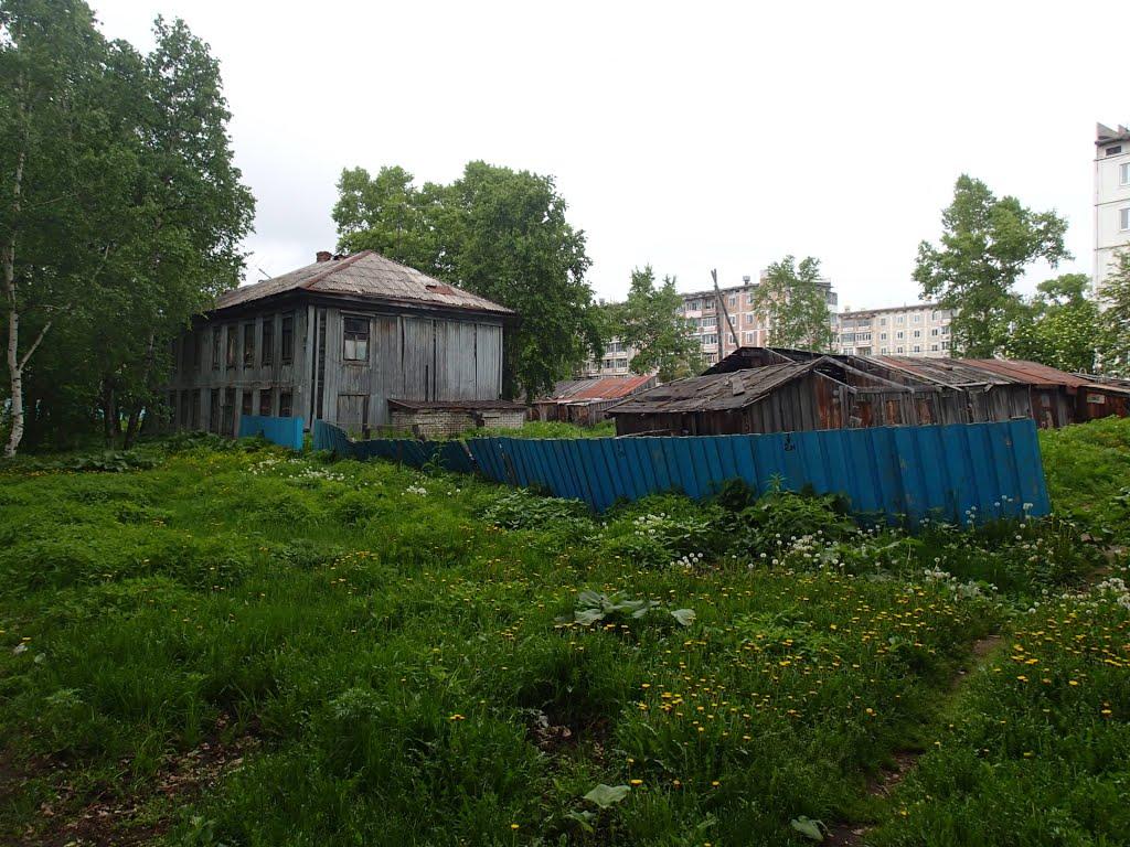 Back streets of Nikoleavsk, Николаевск-на-Амуре