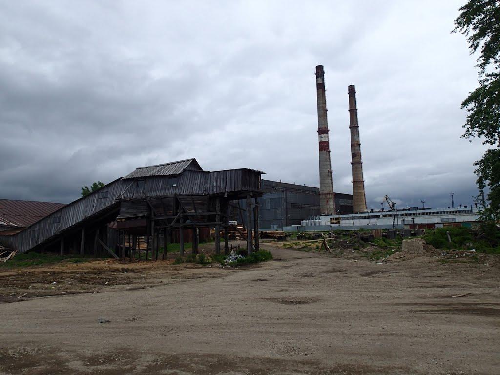 Industrial wasteland- Nikolaevsk, Николаевск-на-Амуре