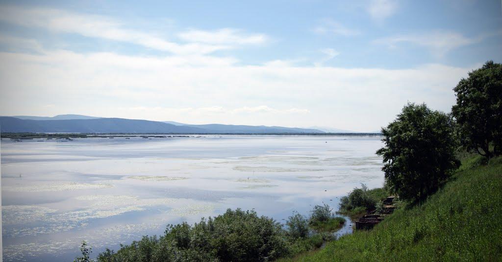 р. Амур (Russia, Far East, The Amur river, Nikolaevsk-on-Amur town), Николаевск-на-Амуре