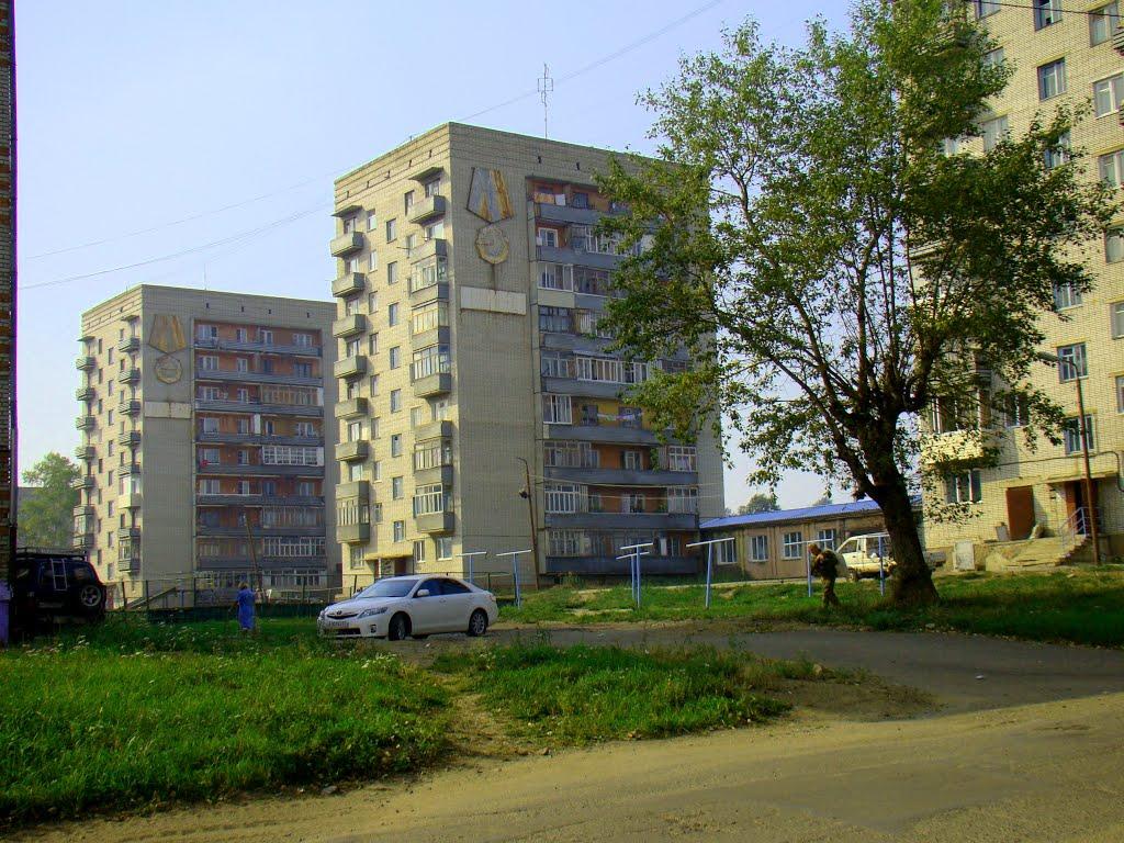 Три высотки, Николаевск-на-Амуре